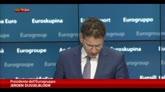 Dijsselbloem: ok estensione prestito con impegni Grecia