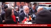 Incontro Merkel con papa, il commento di Andrea Riccardi