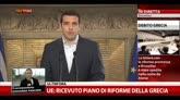 UE: ricevuto il piano di riforme della Grecia