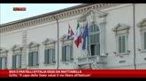 Quirinale, M5S e Fratelli d'Italia oggi da Mattarella