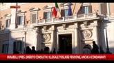 Vitalizi, Dambruoso: politica sta facendo la sua parte