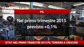 27/02/2015 - Istat: nel primo trimestre del 2015 Pil tornerà a crescere
