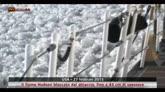 USA, il fiume newyorkese ghiacciato: fino 45 cm di spessore