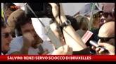 Lega a Roma, Salvini: cancelleremo la legge Fornero