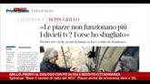 Grillo:pronti a dialogo con PD su Rai e reddito cittadinanza