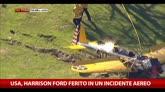 Usa, Harrison Ford ferito in un incidente aereo