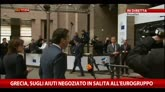 Grecia, sugli aiuti negoziato in salita all'Eurogruppo