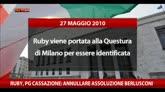 """Ruby, PG Cassazione: """"Annullare l'assoluzione di Berlusconi"""""""