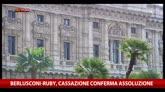 Berlusconi-Ruby, Cassazione conferma assoluzione