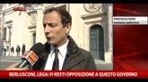 Berlusconi, Lega: FI resti opposizione a questo Governo