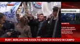 Ruby, dopo l'assoluzione Berlusconi ringrazia i magistrati