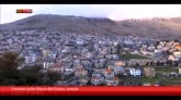 14/03/2015 - Telecamere Sky TG24 in Golan, al confine tra Israele e Siria