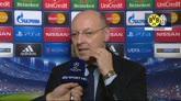 Champions, Juve ai quarti: il tributo di Marotta ad Allegri