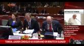 Tunisia, leader Consiglio Ue osservano un minuto di silenzio