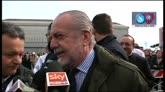 """21/03/2015 - De Laurentiis: """"Presto l'amichevole Napoli-San Lorenzo"""""""