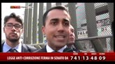 """26/03/2015 - Anticorruzione, Di Maio: """"Legge devastata dalla maggioranza"""""""