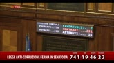 Corruzione, alla Camera ok alla riforma della prescrizione
