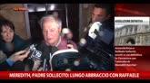 """28/03/2015 - Meredith, padre Sollecito: """"Lungo abbraccio con Raffaele"""""""