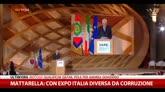 Mattarella: con Expo Italia diversa da corruzione
