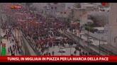 29/03/2015 - Tunisi, in migliaia in Piazza per la marcia della pace