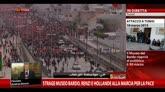 29/03/2015 - Marcia per la pace, Renzi: non la diamo vinta ai terroristi