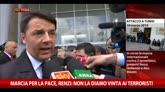 29/03/2015 - Marcia pace a Tunisi, Renzi: non la diamo vinta a terroristi
