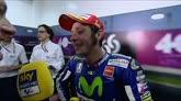 """29/03/2015 - GP Qatar, Rossi c'è: """"All'inizio dormivo, poi li ho presi"""""""