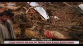 31/03/2015 - India, frana inghiotte 2 case dopo 3 giorni di forti piogge