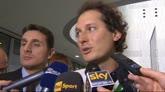 """31/03/2015 - Elkann: """"Stasera tifo Italia. Conte? Saluto sempre tutti"""""""