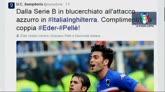 31/03/2015 - La strana coppia dell'Italia: Eder e Pellè