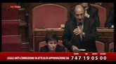 DDL anticorruzione, interventi in Senato