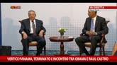 11/04/2015 - Vertice Panama, terminato l'incontro tra Obama e Raul Castro