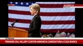 12/04/2015 - Usa 2016, Hillary Clinton annuncia sua candidatura