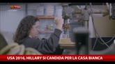 13/04/2015 - USA 2016, Hillary Clinton inizia la corsa alla Casa Bianca