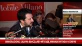 Immigrazione, Salvini: Marina difenda confini