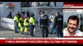 Migranti, Salvini a Sky TG24: bisogna fermarli in Nordafrica