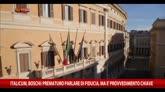 "Italicum, Boschi: ""Prematuro parlare di fiducia"""
