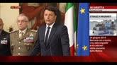 Naufragio Sicilia, la conferenza stampa di Matteo Renzi