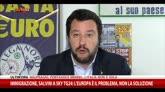 Immigrazione, Salvini: Europa è problema, non la soluzione