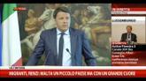 Migranti, Renzi: siamo in presenza dei nuovi schiavisti