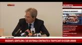Migranti, Gentiloni: potenziare operazione Triton-Frontex