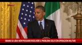 20/04/2015 - Libia, le parole di Barack Obama