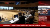 Immigrati, Commissione presenta a ministri piano in 10 punti
