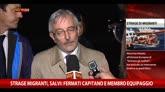 21/04/2015 - Strage migranti, Salvi: fermati capitano e membro equipaggio