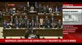 Naufragio migranti, la Camera si ferma per un minuto