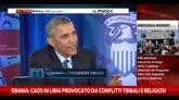 22/04/2015 - Obama: caos in Libia provocato da conflitti religiosi