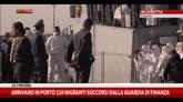 23/04/2015 - Catania, arrivano in porto 220 migranti soccorsi da GdF