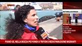 23/04/2015 - Sbarchi Catania, le testimonianze di Save the Children e Oim
