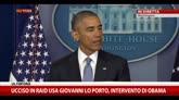 23/04/2015 - Obama: Lo Porto ucciso in operazione Usa antiterrorismo