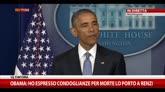 23/04/2015 - Obama: sento responsabilità per morte Lo Porto